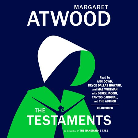 The Testaments : The Sequel to The Handmaid's Tale #1 NEW YORK TIMES BESTSELLER WINNER OF THE BOOKER PRIZE The Testaments is a modern masterpiece, a powerful novel that can be read on its own or as a companion to Margaret Atwood's classic, The Handmaid's Tale. More than fifteen years after the events of The Handmaid's Tale,  the theocratic regime of the Republic of Gilead maintains its grip on power, but there are signs it is beginning to rot from within. At this crucial moment, the lives of three radically different women converge, with potentially explosive results. Two have grown up as part of the first generation to come of age in the new order. The testimonies of these two young women are joined by a third: Aunt Lydia. Her complex past and uncertain future unfold in surprising and pivotal ways.  With The Testaments,  Margaret Atwood opens up the innermost workings of Gilead, as each woman is forced to come to terms with who she is, and how far she will go for what she believes.