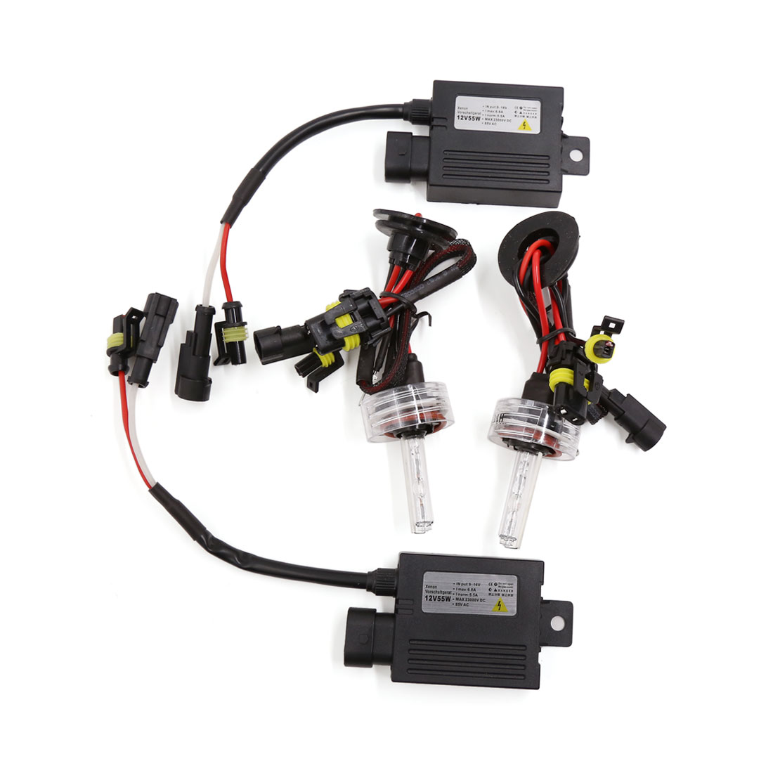 DC 12V 55W H11 Single Beam HID Xenon Bulb Light Headlight Conversion Kit 6000K