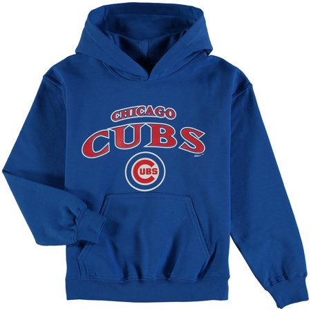 Chicago Cubs Stitches Youth Team Fleece Pullover Hoodie - Royal Baseball Fleece Hoodie