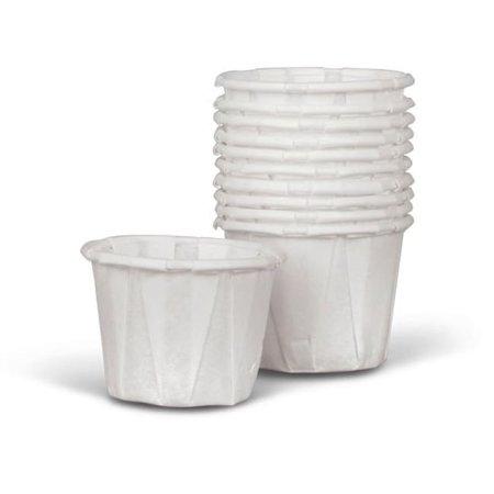 Medline  Paper 0.75-oz Souffle Cup (Case of 5000) - Souffle Cups