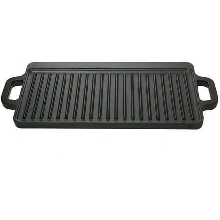 Ozark Trail Small Cast Iron Griddle (reversible) (Industrial Series Cast Iron)