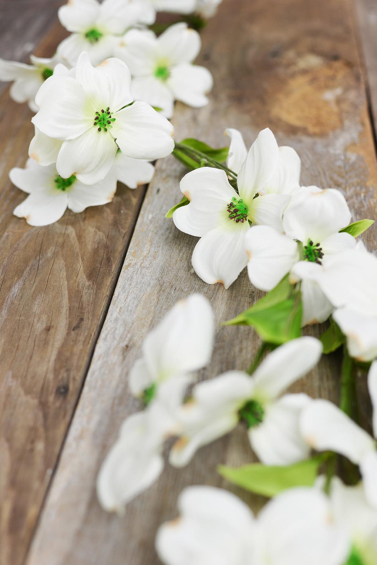 Dogwood flower garland walmart izmirmasajfo
