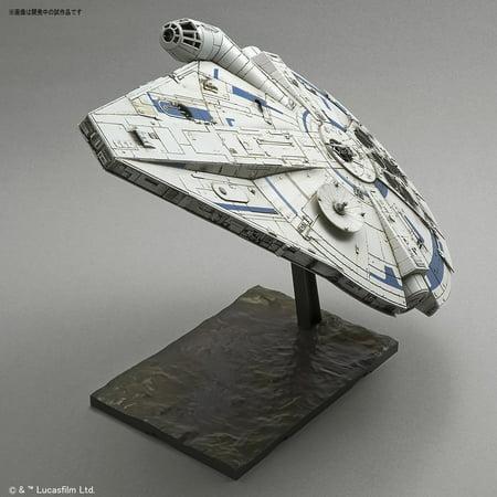 Bandai Star Wars Solo Story Millennium Falcon Lando Calrissian 1/144 Model Kit