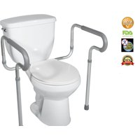 Astonishing Toilet Safety Frames Rails Walmart Com Ibusinesslaw Wood Chair Design Ideas Ibusinesslaworg