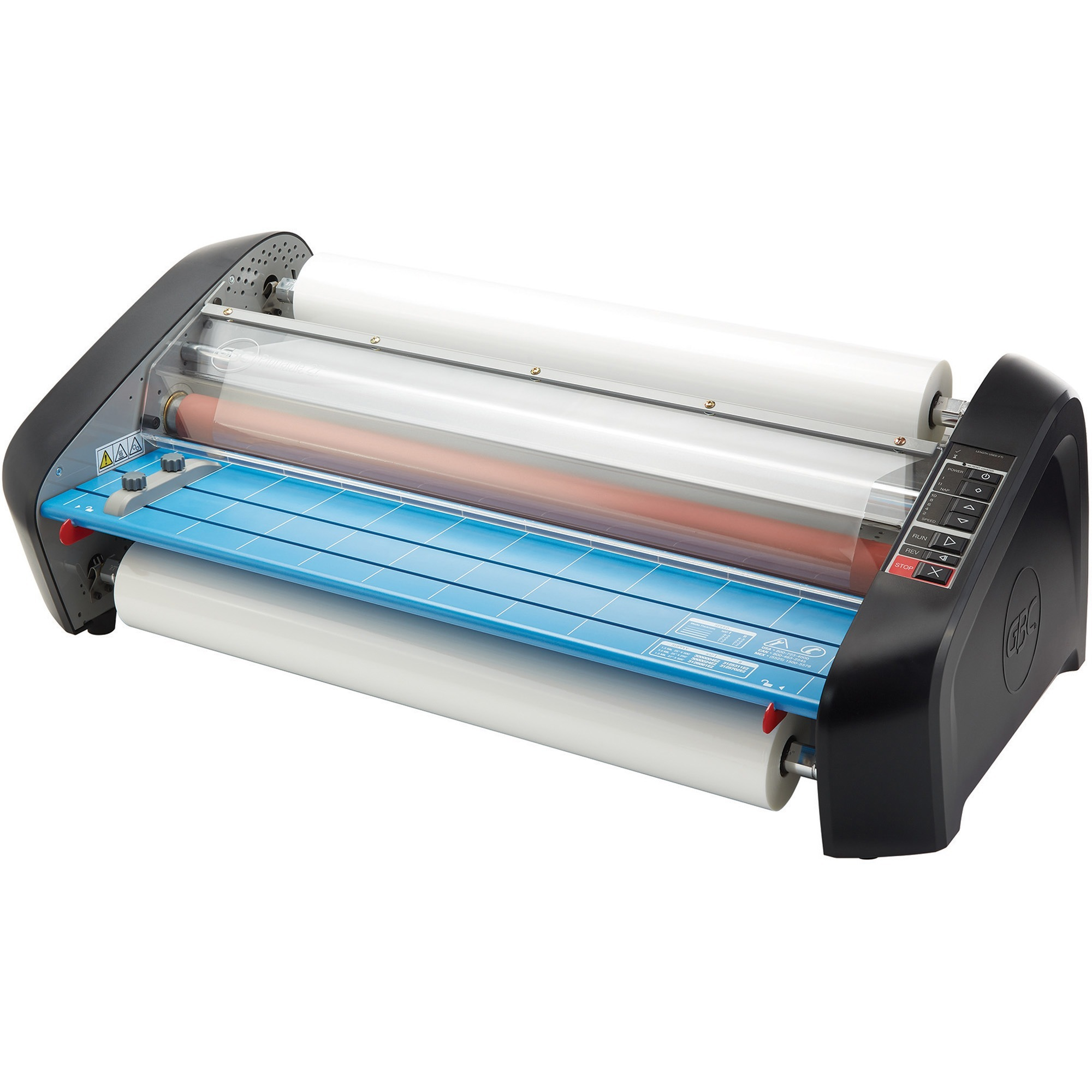 "GBC, GBC1701700, Pinnacle 27 Thermal Roll Laminator, NAP I/II, 27"" Max. Width, 8-10 Min Warm-Up, 1, Gray,Blue"