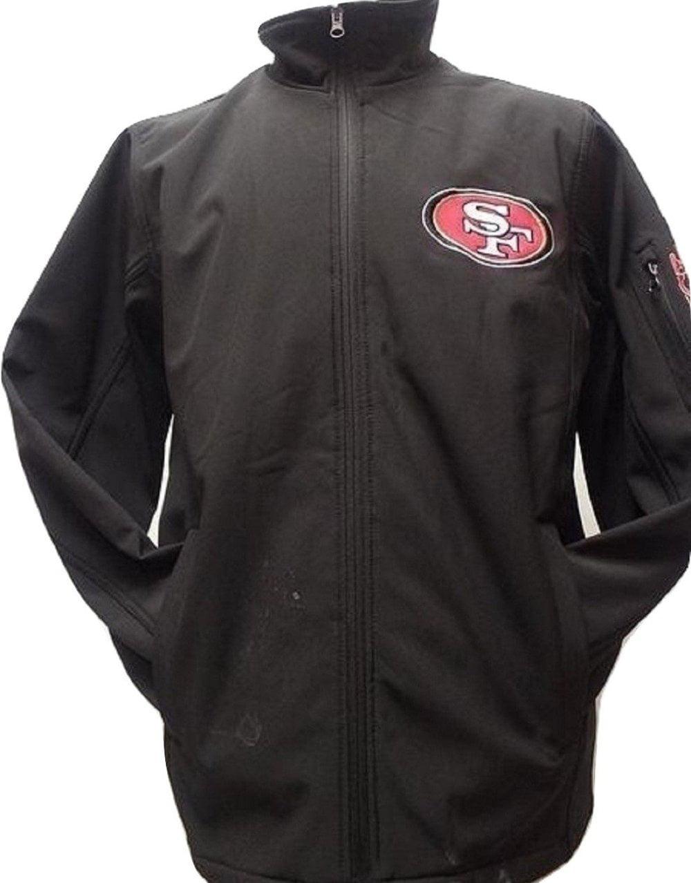 San Francisco 49ers Black Softshell Full Zip Jacket by G-III Sports