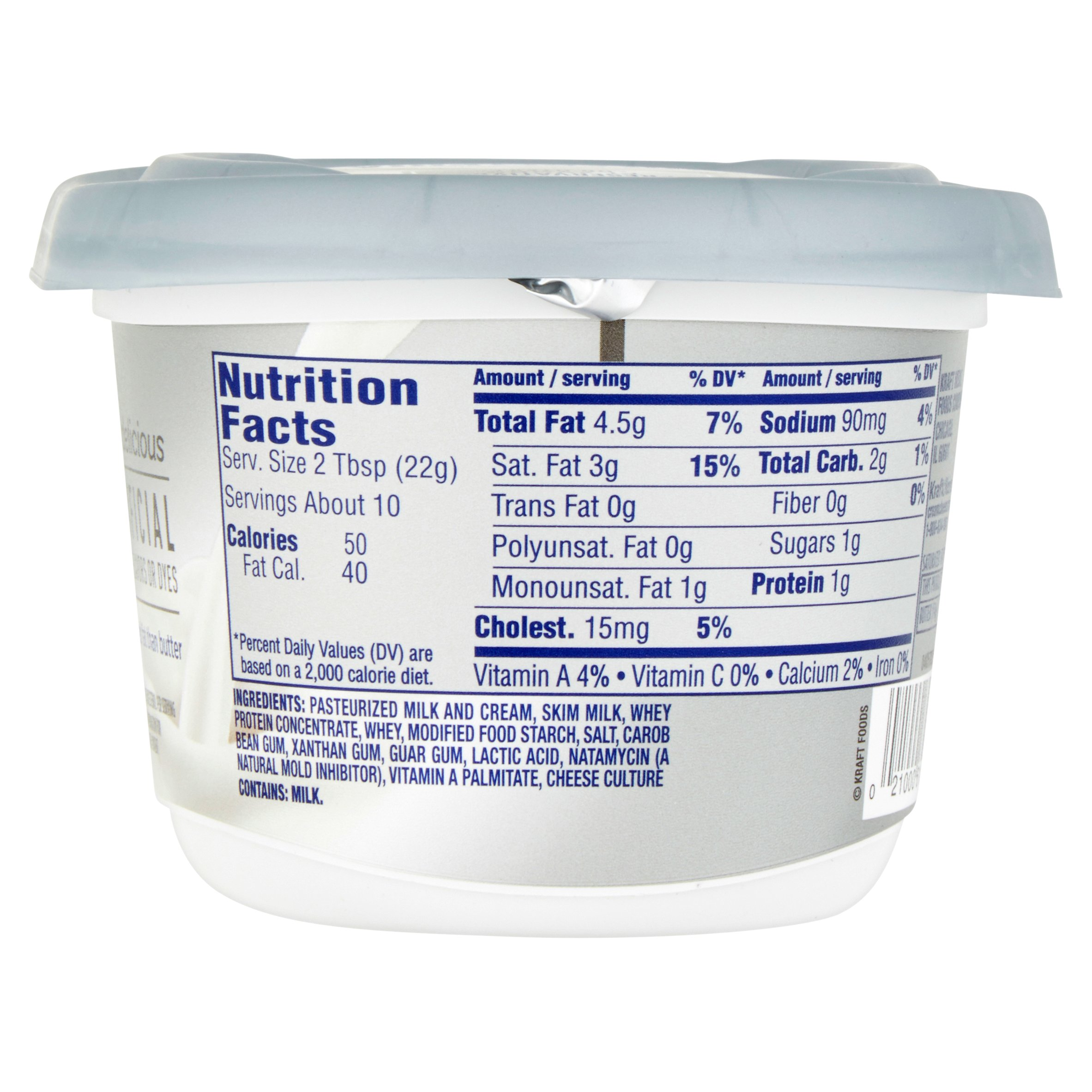 Fat free cream cheese nutrition facts
