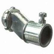 Halex 03705B Concretetight Offset Connector, Zinc