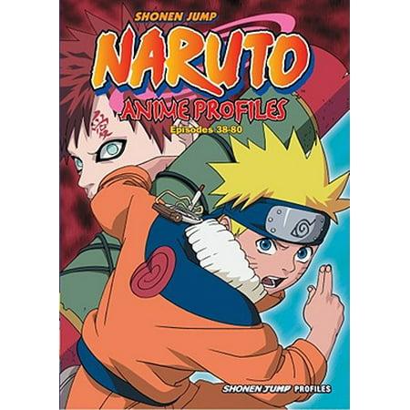 Naruto Anime Profiles, Vol. 2 : Hiden Shippu Emaki (Halloween Anime Naruto)