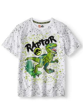 Jurassic World Raptor Short Sleeve Graphic T-Shirt (Little Boys & Big Boys)