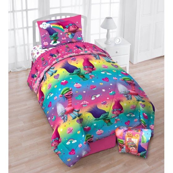 Trolls Bedding For A Twin Bed