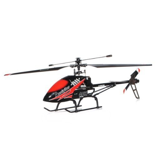 Feilun Red 4-channel 29-inch Single-blade Helicopter by Overstock