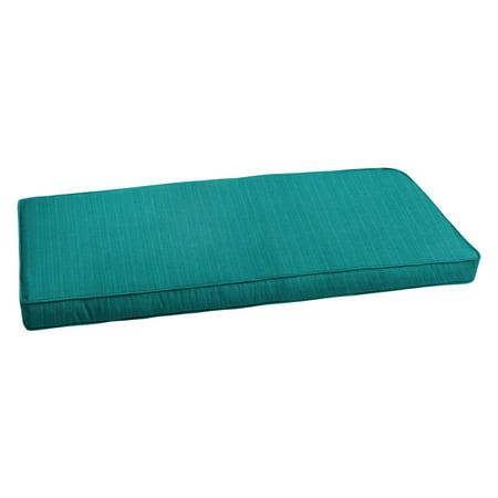 Mozaic Company Sunbrella Dupione Deep Sea Outdoor Bench Cushion