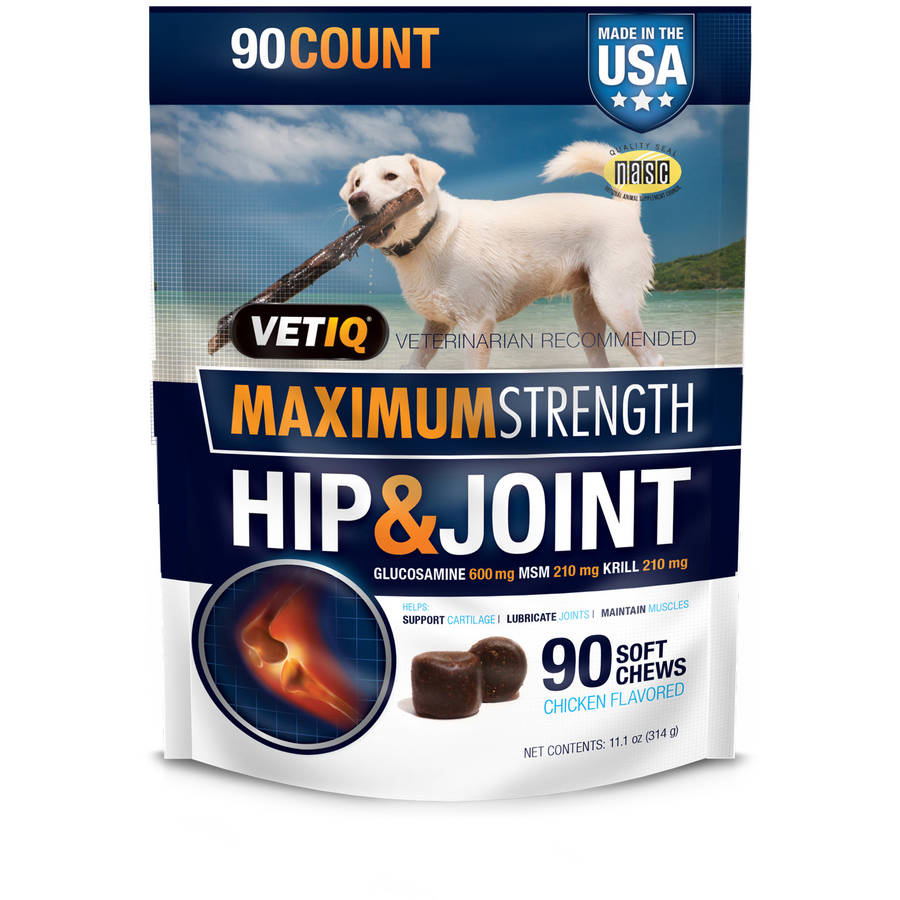 VetIQ Refreshed Hip and Joint, 90 Count