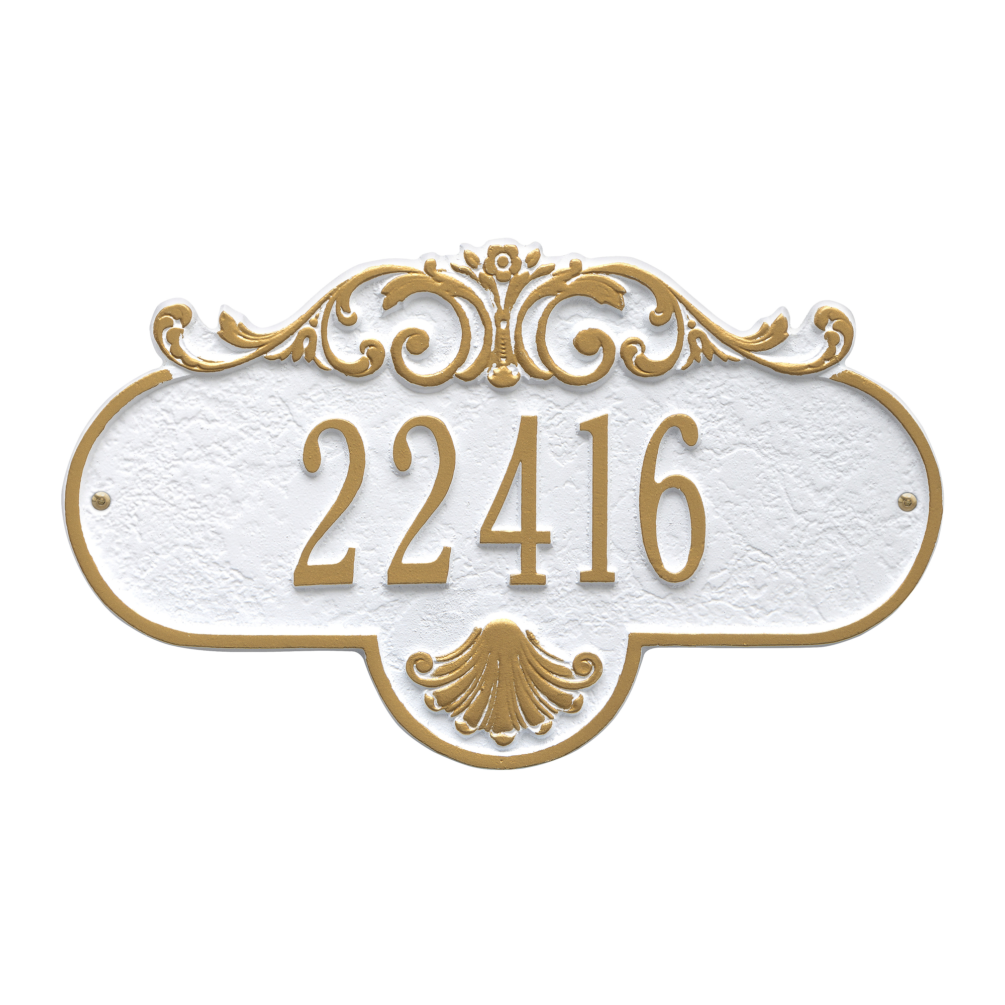 Personalized Whitehall Products Standard One-Line Rochelle Wall Plaque in Copper