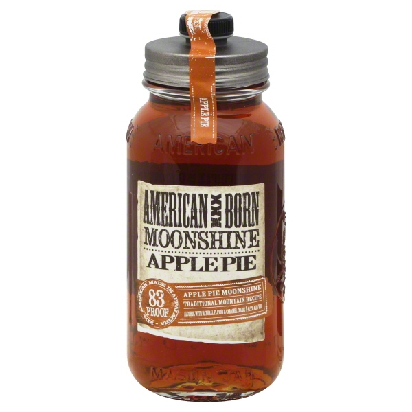 American Born Apple Pie Moonshine, 750 mL