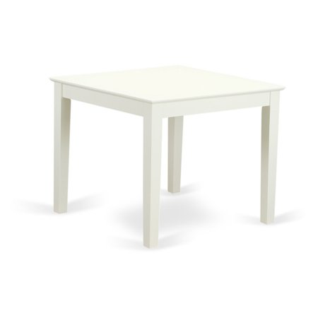 East West Furniture Oxford Square Dining Table