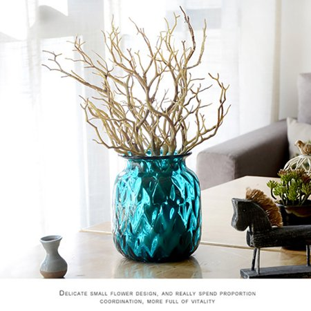 3Pcs Dry Artificial Fake Plant Tree Branch Wedding Home Office Furniture Decor