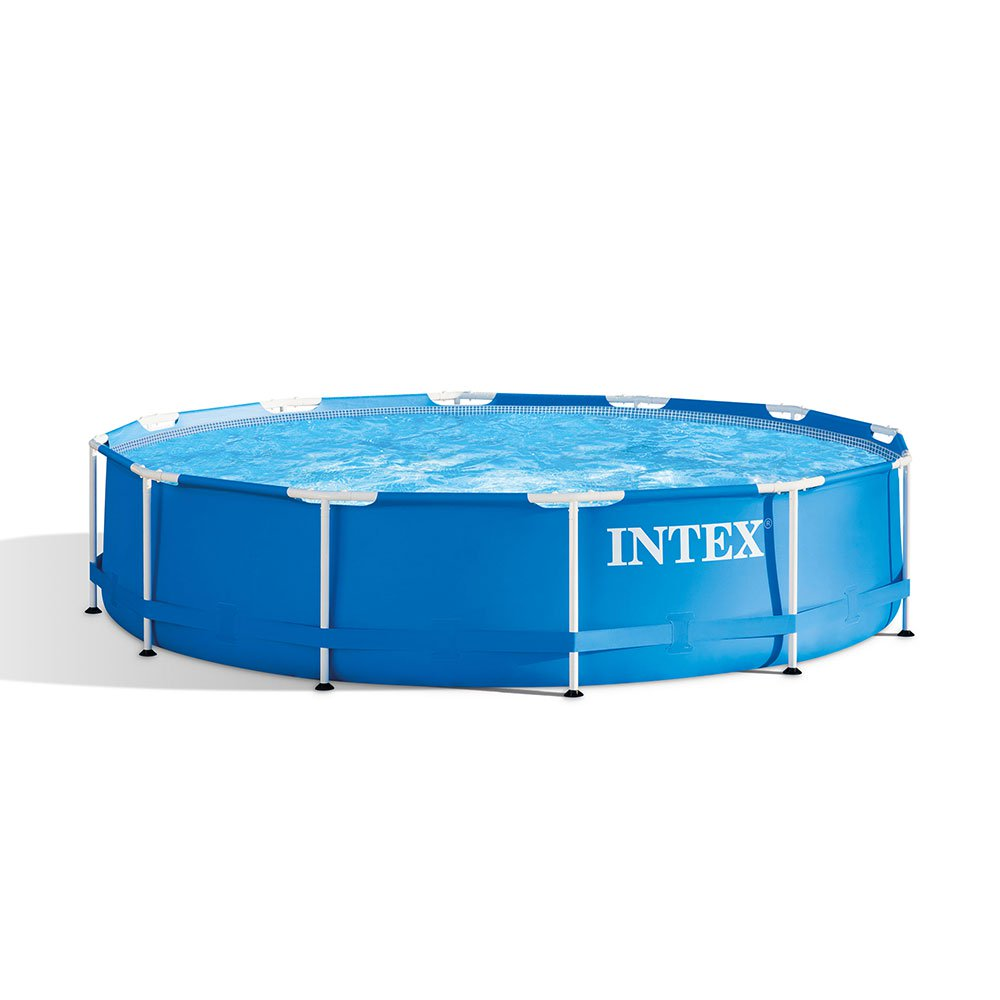 Intex 12 Foot X 30 Inches Metal Frame 1718 Gallon Capacity