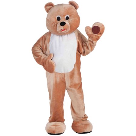Honey Bear Mascot Adult Halloween Costume, Size: Men's - One Size