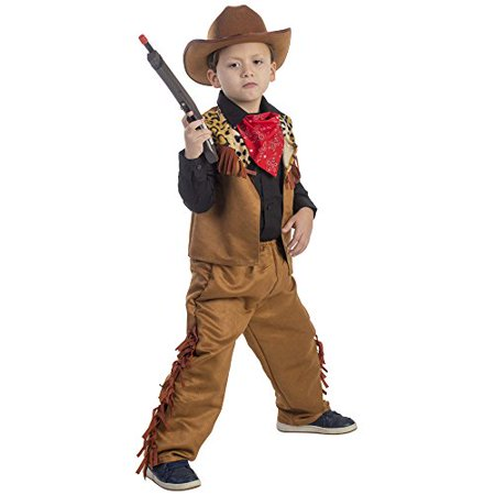 Wild Western Cowboy Costume - Size Large 12-14](Western Cowboy Costumes)