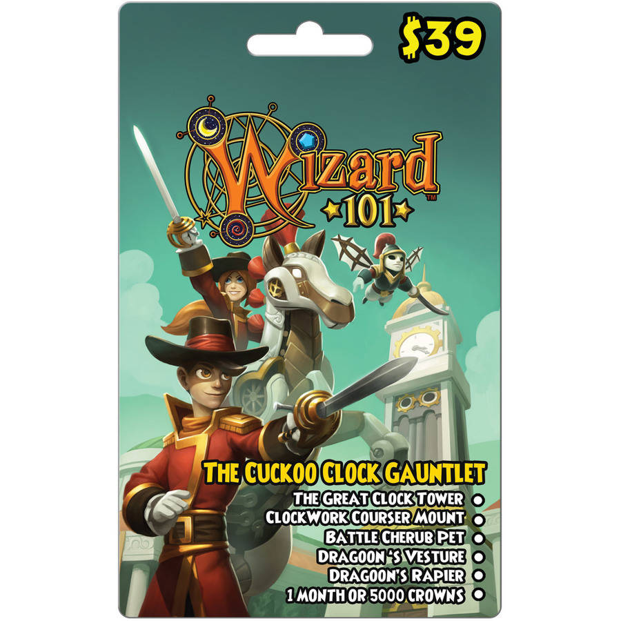 Kingsisle Wizard101 Cuckoo Clock Gauntlet (Email Delivery)