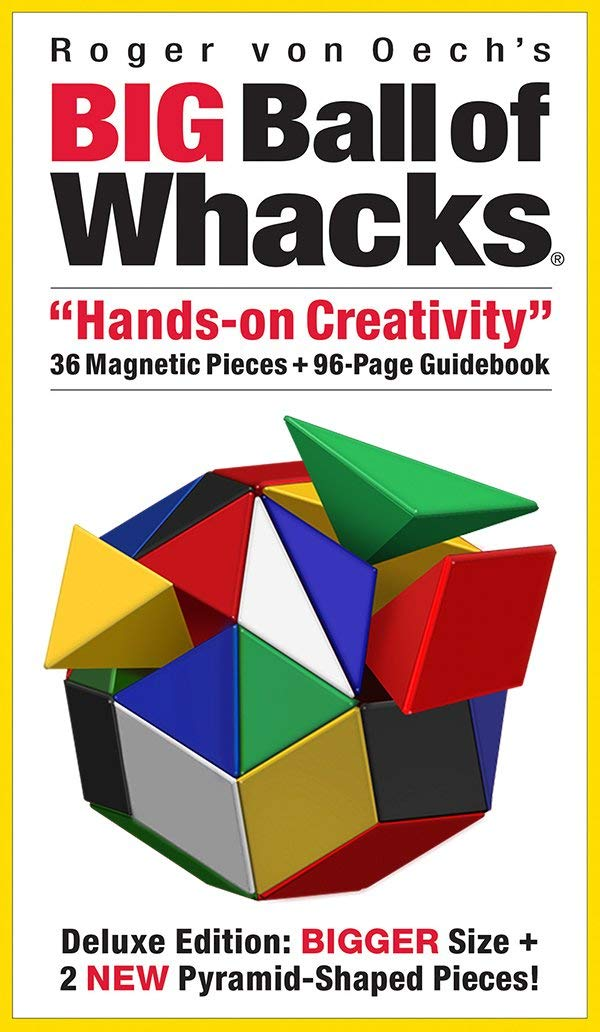 Big Ball of Whacks Six Color Brain Teaser Puzzle 3D Building Challenge by