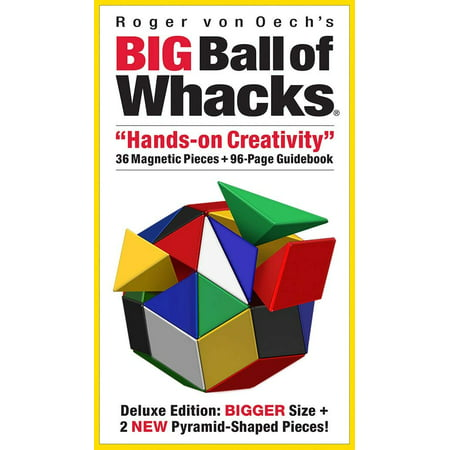 Big Ball of Whacks - Six Color Brain Teaser Puzzle 3D Building Challenge - Brain Balls