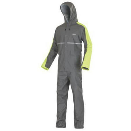 Ansi Class 3 Rainsuit (Coleman Adult Gulf PVC/Nylon Rain Suit )