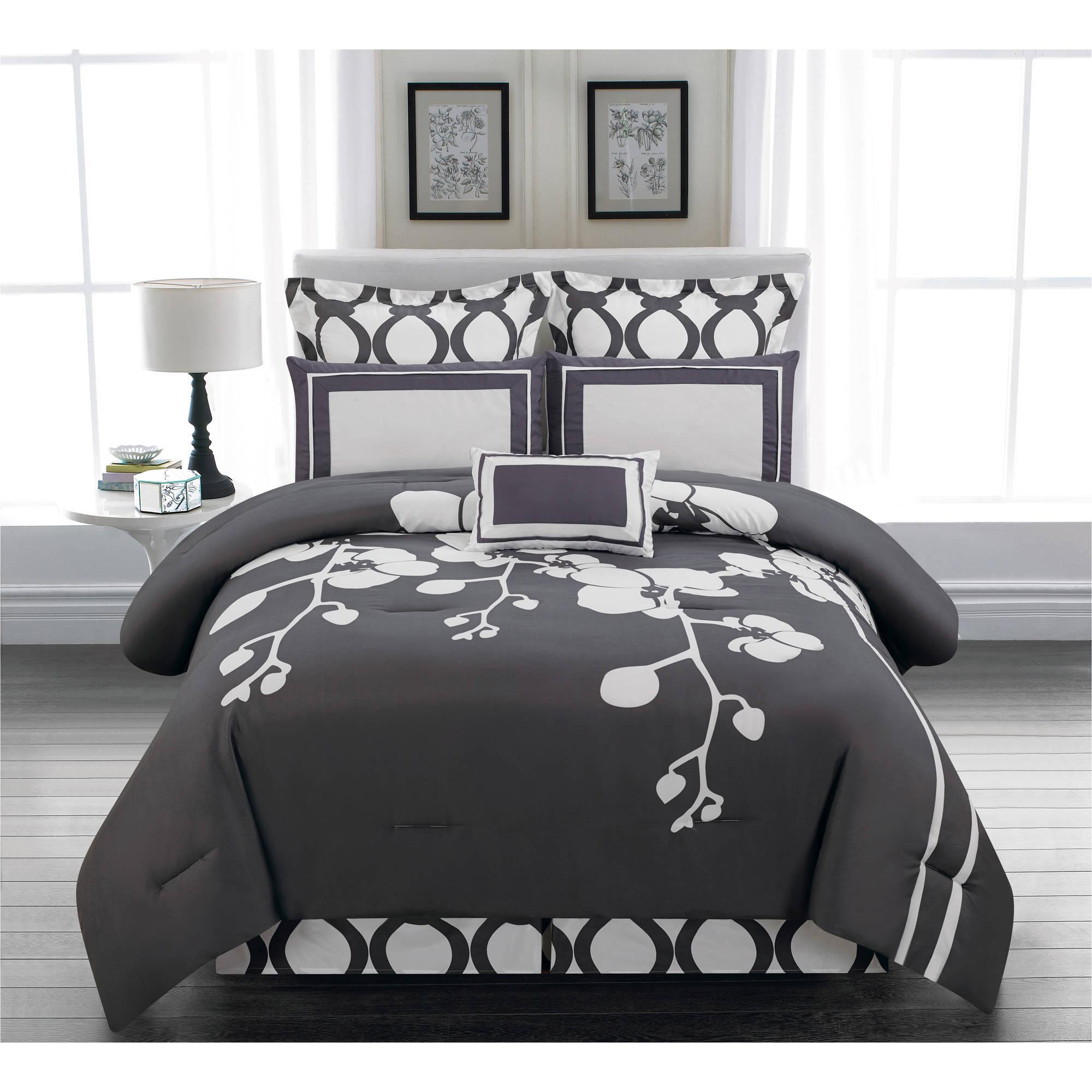 Duck River Textiles Ashlea 10-Piece Oversize Overfilled Queen Comforter Set