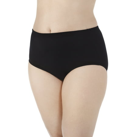 ce8f2a79dc0 Fit for Me by Fruit of the Loom Women s Plus Breathable Cotton-Mesh Brief  Panties