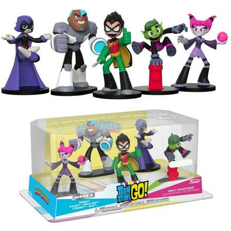 Teen Titans Raven Feet (Funko DC Teen Titans Go! Series 3 Robin, Raven, Beast Boy, Cyborg & Jinx Vinyl Figure)