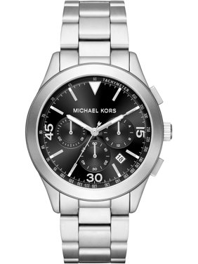 Michael Kors Men's Gareth MK8469 Silver Stainless-Steel Quartz Fashion Watch