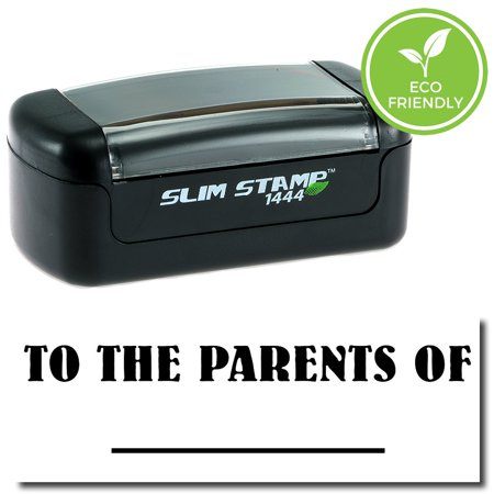 Slim Pre Inked To The Parents Of Stamp With Black Ink
