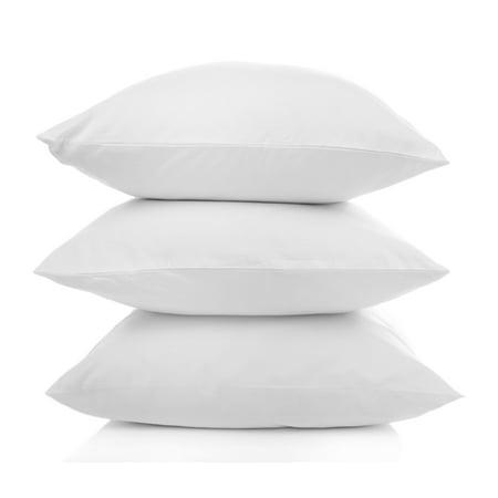 European Down Alternative Gel Fiber Pillow WHITE / European European Down Pillow