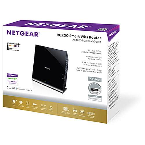 Netgear R6200 802.11ac Dual Band Gigabit WiFi Router