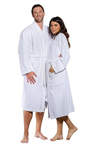 Men/'s Navy Blue Waffle Kimono Robe 100/% Turkish Quality Cotton ONE-Size