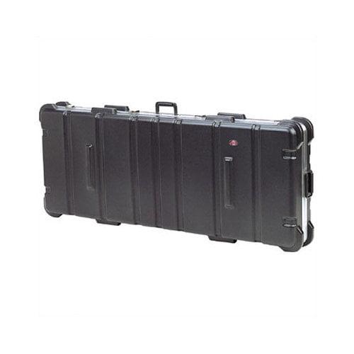 SKB Cases Low Profile ATA Case:  8 7/16'' H x 44 3/8'' W x 14 13/16'' D (outside)