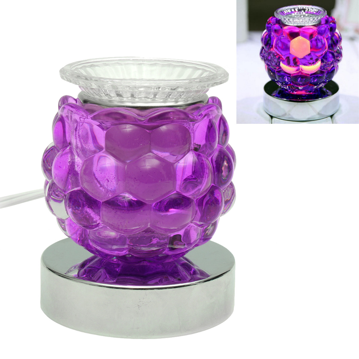 Meigar Electric Scented Oil Warmer Lamp Wax Burner Bulb Fragrance Diffuser Essential Oil Aroma Diffuser Air Aromatherapy Purifier Better Homes And Garden