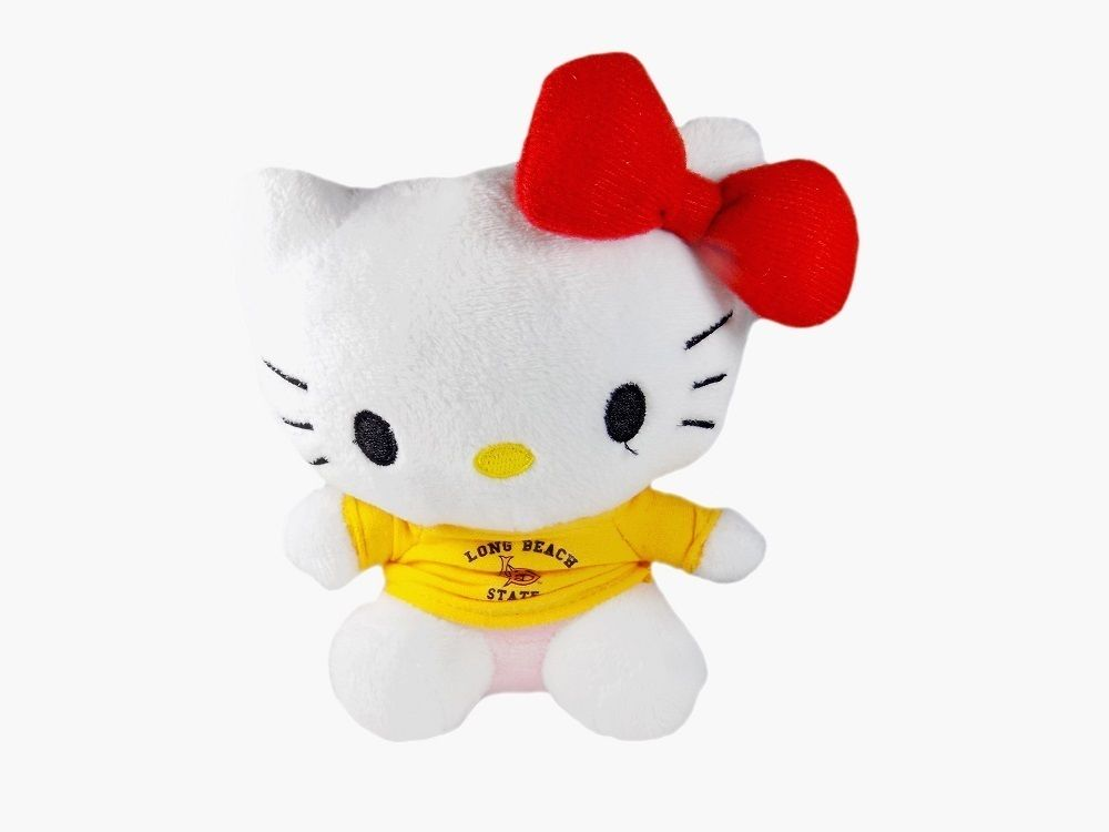 Hello Kitty Goes to College California State University CSU 49ers Plush Toy by Plushland
