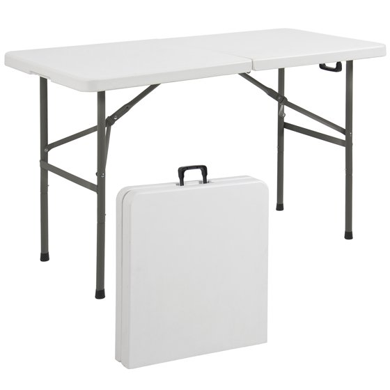 Best Choice Products Folding Table 4 Portable Plastic