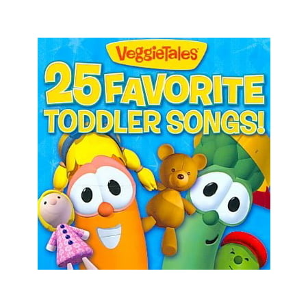 25 Favorite Toddler Songs (CD)