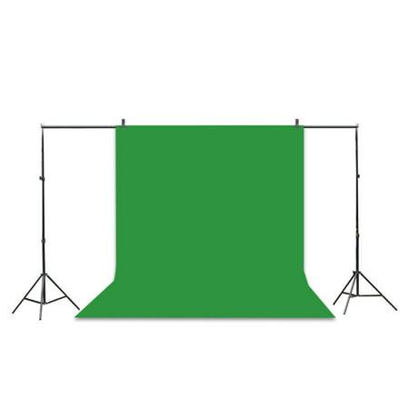 (1.6x3m/5x10ft Black Screen Chroma Key Photography Background Backdrop)