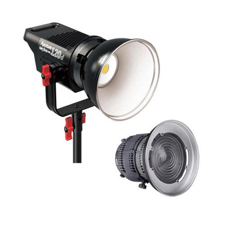 Aputure Light Storm LS C120t Daylight LED Light Kit with AB-Mount, Hanging Column, Controller Box - With Aputure Fresnel Lens Mount for COB 120 Series