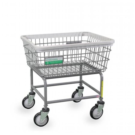 - r&b wire products 100e-anti antimicrobial standard laundry cart