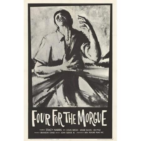 Four For the Morgue POSTER Movie Mini Promo - Morgue Sign