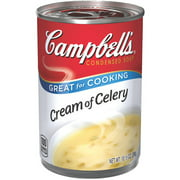 (4 pack) Campbell'sCondensed Cream of Celery Soup, 10.5 oz. Can