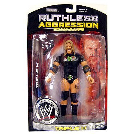 WWE Wrestling Ruthless Aggression Best of 2008 Series 1 Triple H Action