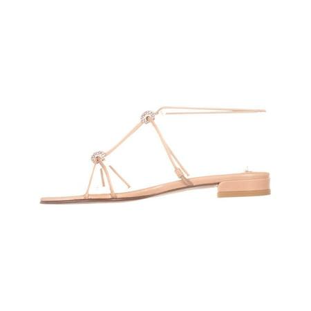 Sandales Pour Femmes Stuart Weitzman Tweety, Beige - image 5 de 6