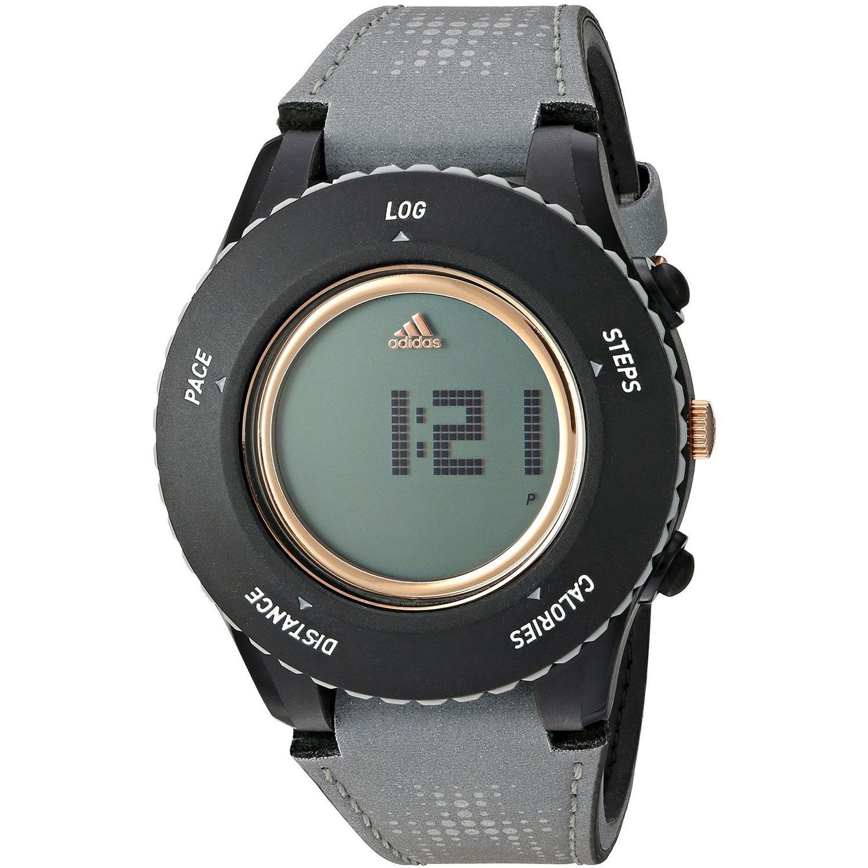 Adidas Men's 44mm Grey Cloth Band Plastic Case Quartz Digital Watch ADP3250 by Adidas